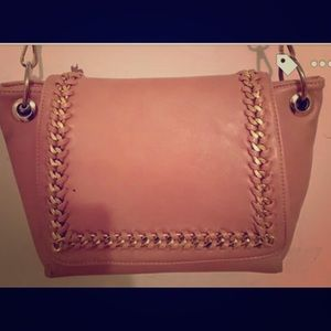 Muted pink purse